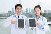 Modern doctors — Stock Photo
