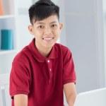 Happy schoolboy — Stock Photo #27650793
