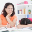 I dont want to study! — Foto Stock
