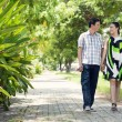 Stock Photo: Love promenade