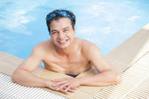 After swimming — Stock Photo