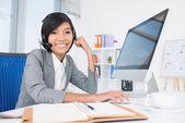 Business telekommunikation — Stockfoto