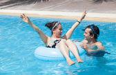 Swim fun — Stock Photo