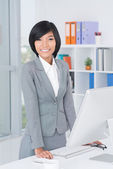 Nice assistant — Stock Photo