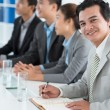 confident businessman — Stock Photo
