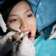 Stock Photo: Painful procedure