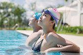Water relaxation — Stock Photo