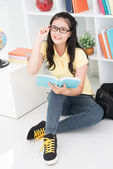 Modern pupil — Stock Photo