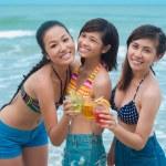 Girls friendship — Stock Photo