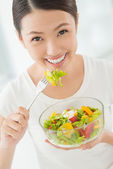 Healthy eater — Stock Photo
