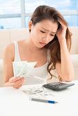 Problemas de dinero — Foto de Stock