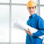 Professional foreman — Stock Photo