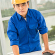 Constructor worker — Stock Photo