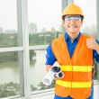 I love my job! — Stock Photo
