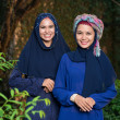 Attractive muslim women — Stock Photo