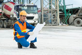 On work-site — Stock Photo
