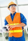 Concentrated at work — Stock Photo