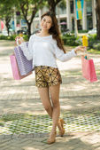 Wonderful shopping — Stock Photo