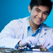 Stock Photo: Young engineer