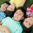 Resting children — Stock Photo