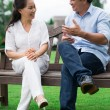 Talking outside — Stock Photo #31308859