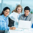 Cooperative colleagues — Stock Photo #31309223