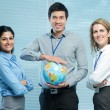 International workgroup — Stock Photo #31309227