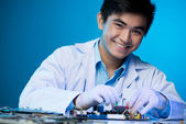 Young engineer — Stock Photo