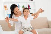 儿童的健康 — 图库照片