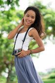 Lovely smile — Stock Photo