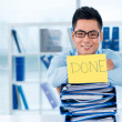 Everything is done — Stock Photo