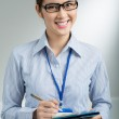 Lovely businesswoman — Stock Photo #32649227