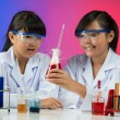 Chemical experiment — Stock Photo #32649299