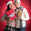 Stock Photo: X-mas presents