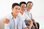 Tre generazioni — Foto Stock