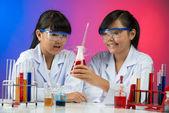 Chemische experiment — Stockfoto