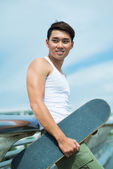 Sportive young man — Stock Photo