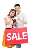 Crédito para compras — Foto de Stock