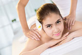 Spa pampering — Stock Photo