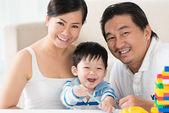 Familie portret — Stockfoto