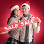 X-mas sale — Stock Photo