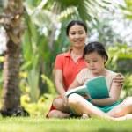 Family reading — Stock Photo #32650137