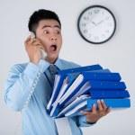 Crazy businessman — Stock Photo #32650221