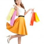 Signora dello shopping — Foto Stock
