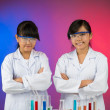 Young researchers — Stock Photo #32650461