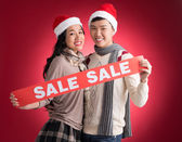 X-mas sale — Stock Photo