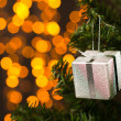 Present for X-mas — Stockfoto