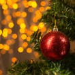 Foto Stock: Christmas tree decoration