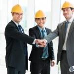Constructor team — Stock Photo