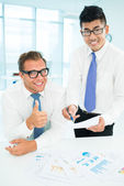 Cool collaboration — Stock Photo